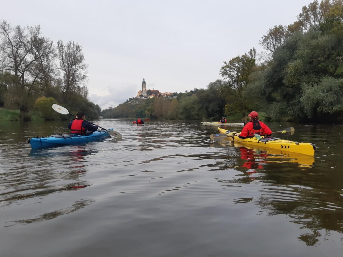 Seakajak na Vltavě