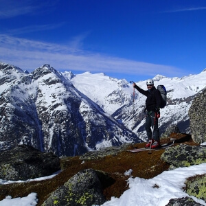 Skiroute Hoch Tirol - královna skialpových tras